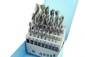 21 Piece Spur Point Drill Set 3mm- 13mm. W3430